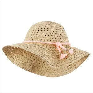 Carter's Straw Sunhat Size 4-8 years old
